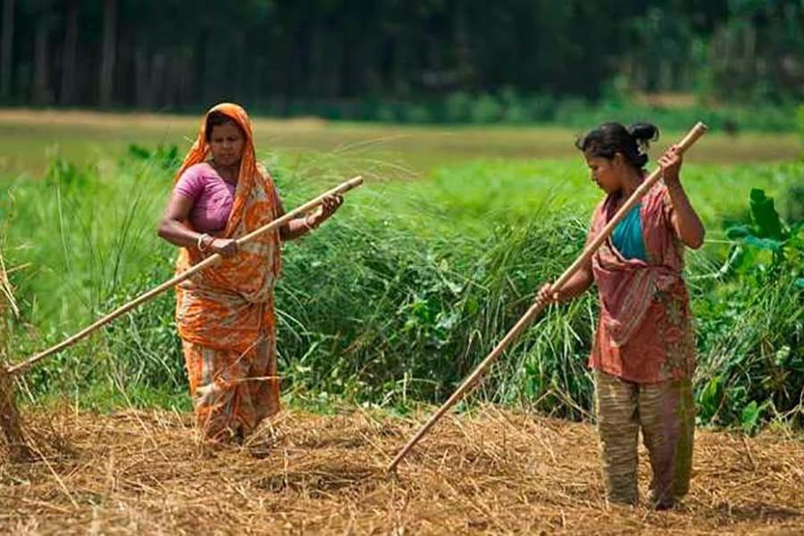 village women in Bangladesh
