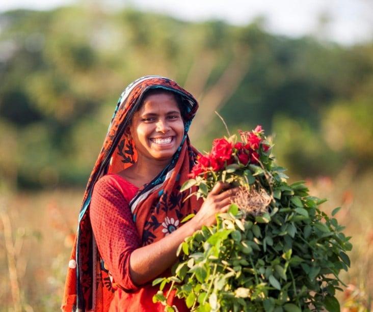 village women in Bangladesh 05