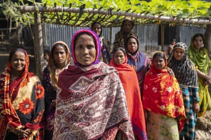village women in Bangladesh 06