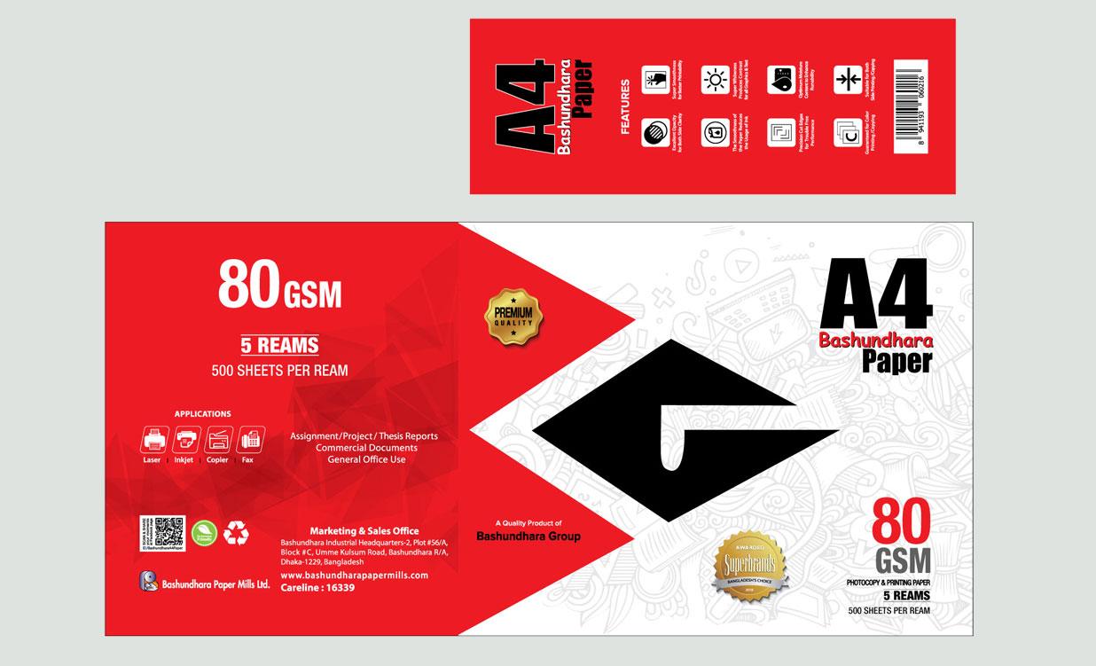 A4 Paper Wrapper Cromalin Output 560mm X 390mm Cartoon 1