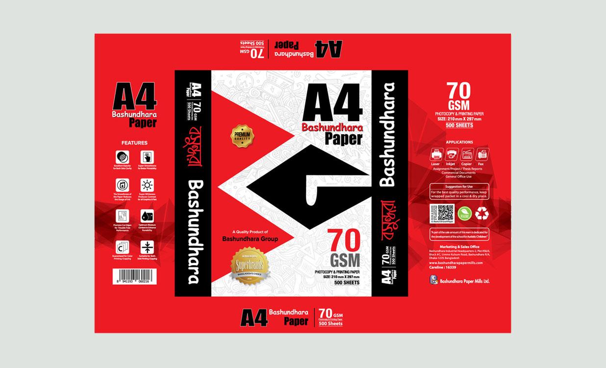 A4 Paper Wraper 70 GSM 1