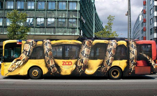 Guerrilla Marketing in public transport